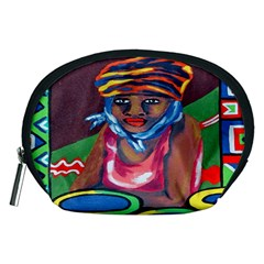 Ethnic Africa Art Work Drawing Accessory Pouches (medium)