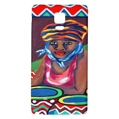 Ethnic Africa Art Work Drawing Galaxy Note 4 Back Case