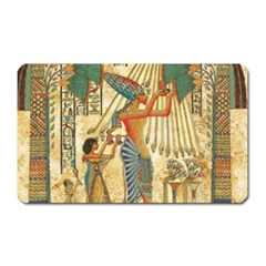 Egyptian Man Sun God Ra Amun Magnet (rectangular)