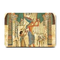 Egyptian Man Sun God Ra Amun Small Doormat