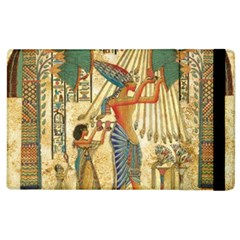 Egyptian Man Sun God Ra Amun Apple Ipad 2 Flip Case