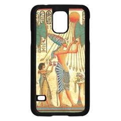 Egyptian Man Sun God Ra Amun Samsung Galaxy S5 Case (black)