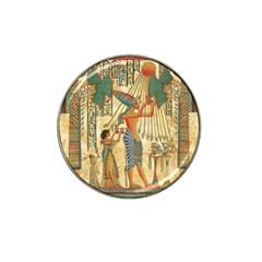 Egyptian Man Sun God Ra Amun Hat Clip Ball Marker (4 Pack)