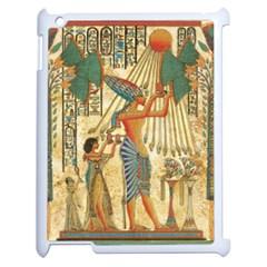 Egyptian Man Sun God Ra Amun Apple Ipad 2 Case (white)