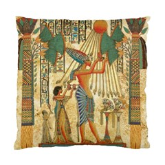 Egyptian Man Sun God Ra Amun Standard Cushion Case (one Side)