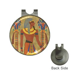 Egyptian Tutunkhamun Pharaoh Design Hat Clips With Golf Markers