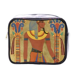 Egyptian Tutunkhamun Pharaoh Design Mini Toiletries Bags
