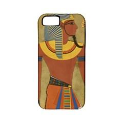Egyptian Tutunkhamun Pharaoh Design Apple Iphone 5 Classic Hardshell Case (pc+silicone)