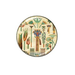 Egyptian Paper Papyrus Hieroglyphs Hat Clip Ball Marker (10 Pack)