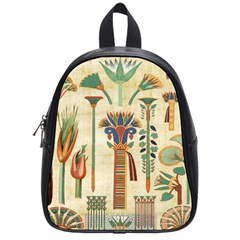 Egyptian Paper Papyrus Hieroglyphs School Bag (small)