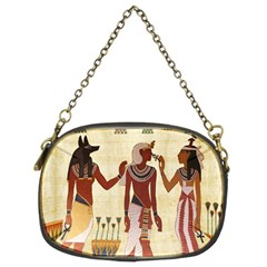 Egyptian Design Man Woman Priest Chain Purses (two Sides)