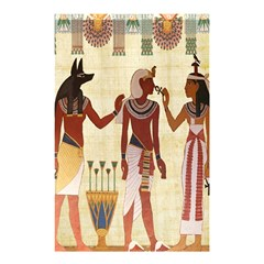 Egyptian Design Man Woman Priest Shower Curtain 48  X 72  (small)