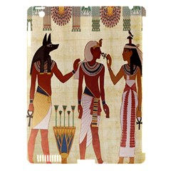 Egyptian Design Man Woman Priest Apple Ipad 3/4 Hardshell Case (compatible With Smart Cover)