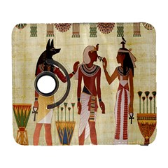 Egyptian Design Man Woman Priest Galaxy S3 (flip/folio)