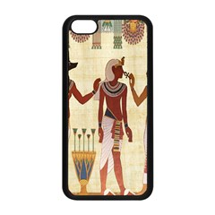 Egyptian Design Man Woman Priest Apple Iphone 5c Seamless Case (black)