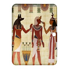 Egyptian Design Man Woman Priest Samsung Galaxy Tab 4 (10 1 ) Hardshell Case