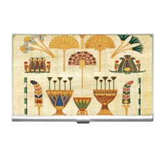 Egyptian Paper Papyrus Hieroglyphs Business Card Holders