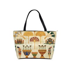 Egyptian Paper Papyrus Hieroglyphs Shoulder Handbags