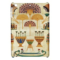 Egyptian Paper Papyrus Hieroglyphs Apple Ipad Mini Hardshell Case