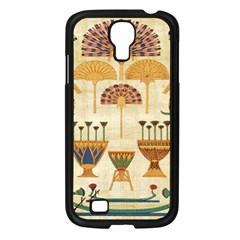 Egyptian Paper Papyrus Hieroglyphs Samsung Galaxy S4 I9500/ I9505 Case (black)