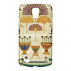 Egyptian Paper Papyrus Hieroglyphs Galaxy S4 Active