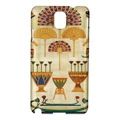 Egyptian Paper Papyrus Hieroglyphs Samsung Galaxy Note 3 N9005 Hardshell Case