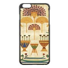 Egyptian Paper Papyrus Hieroglyphs Apple Iphone 6 Plus/6s Plus Black Enamel Case