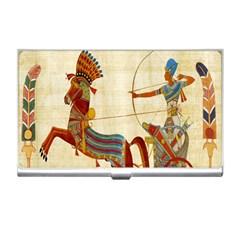 Egyptian Tutunkhamun Pharaoh Design Business Card Holders