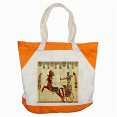 Egyptian Tutunkhamun Pharaoh Design Accent Tote Bag