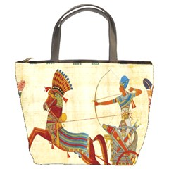 Egyptian Tutunkhamun Pharaoh Design Bucket Bags