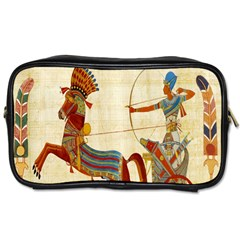Egyptian Tutunkhamun Pharaoh Design Toiletries Bags 2 Side