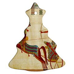 Egyptian Tutunkhamun Pharaoh Design Christmas Tree Ornament (two Sides)