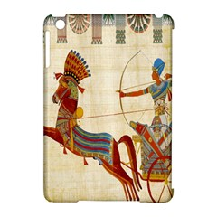 Egyptian Tutunkhamun Pharaoh Design Apple Ipad Mini Hardshell Case (compatible With Smart Cover)