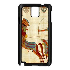 Egyptian Tutunkhamun Pharaoh Design Samsung Galaxy Note 3 N9005 Case (black)