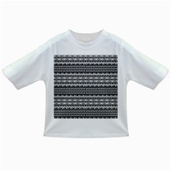 Zentangle Lines Pattern Infant/toddler T Shirts