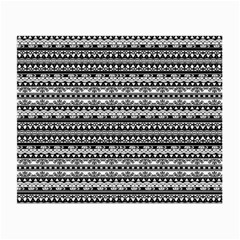 Zentangle Lines Pattern Small Glasses Cloth (2 Side)