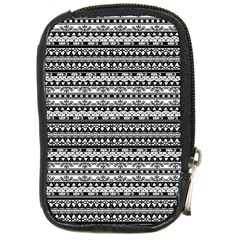 Zentangle Lines Pattern Compact Camera Cases