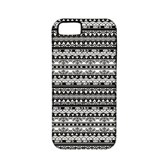 Zentangle Lines Pattern Apple Iphone 5 Classic Hardshell Case (pc+silicone)