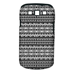 Zentangle Lines Pattern Samsung Galaxy S Iii Classic Hardshell Case (pc+silicone)