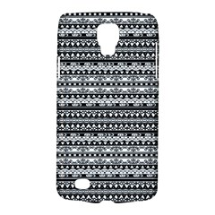 Zentangle Lines Pattern Galaxy S4 Active