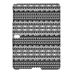 Zentangle Lines Pattern Samsung Galaxy Tab S (10 5 ) Hardshell Case