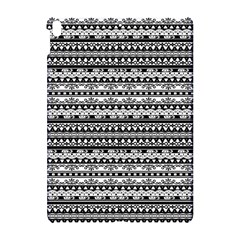 Zentangle Lines Pattern Apple Ipad Pro 10 5   Hardshell Case
