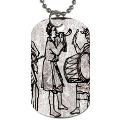 Man Ethic African People Collage Dog Tag (one Side)