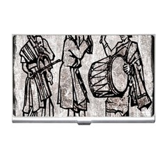 Man Ethic African People Collage Business Card Holders