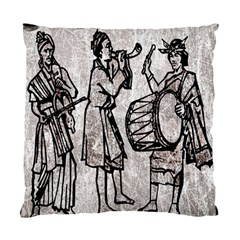 Man Ethic African People Collage Standard Cushion Case (one Side)