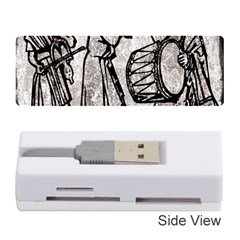 Man Ethic African People Collage Memory Card Reader (stick)