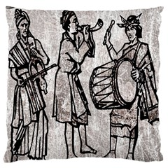 Man Ethic African People Collage Large Cushion Case (two Sides)