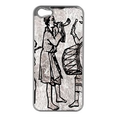 Man Ethic African People Collage Apple Iphone 5 Case (silver)