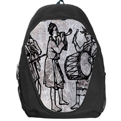 Man Ethic African People Collage Backpack Bag