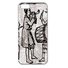 Man Ethic African People Collage Apple Seamless Iphone 5 Case (clear)